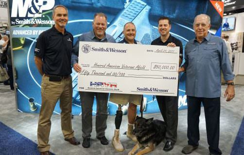 Smith & Wesson Donates $50,000 to Honored American Veterans Afield